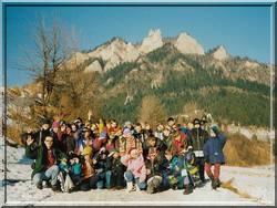 obozy zimowe w górach